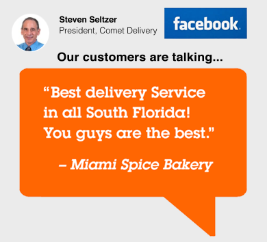 Best delivery service in all South Florida