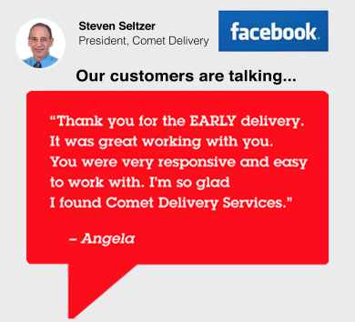 Our customers are talking