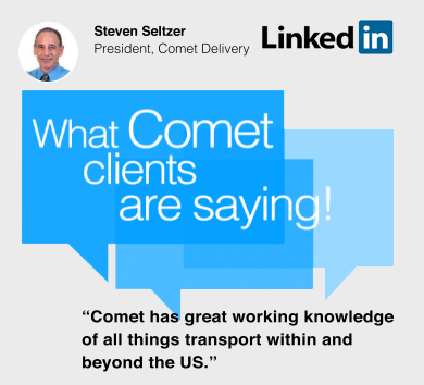 Join Comet Delivery on LinkedIn