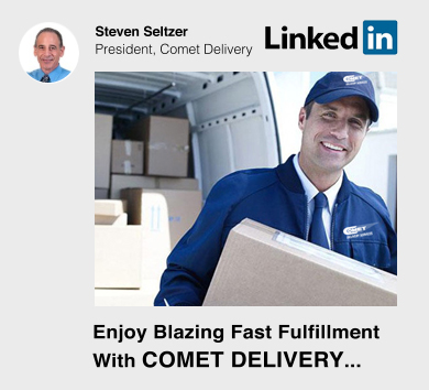 Comet Delivery on LinkedIn
