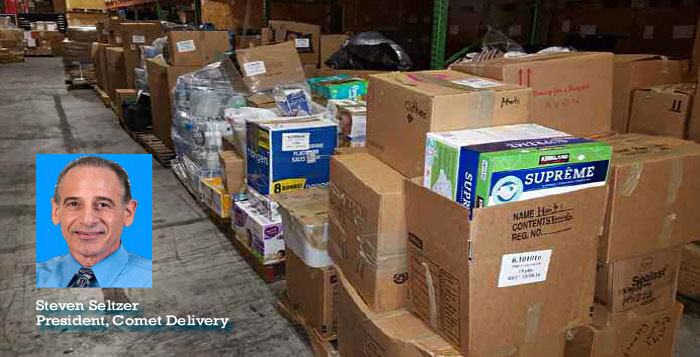 Comet Speeds Vital Supplies to Haiti
