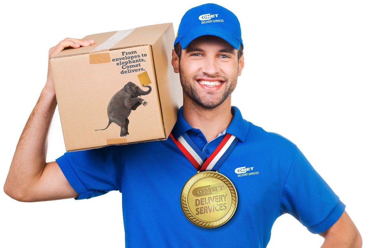 If fast delivery were an Olympic sport, we'd be the Gold Medalist.
