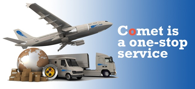 For More Than 38 Years Comet Has Been Recognized in the Delivery Industry as a Leader and Innovator of Delivery Schedules Custom-designed for Their Customers