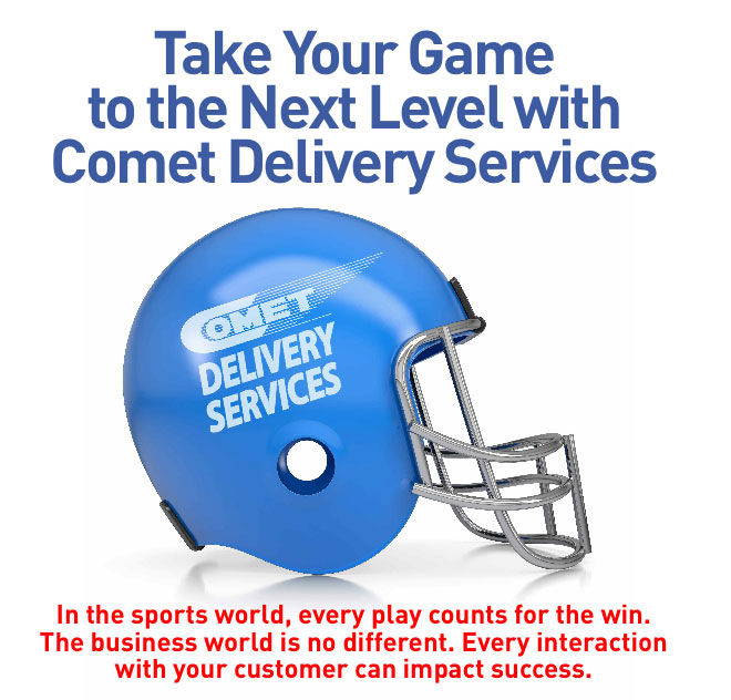Take Your Game to the Next Level with Comet Delivery Services